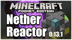 [0.13.1] How to Create Nether Reactor - Minecraft PE (Pocket Edition)