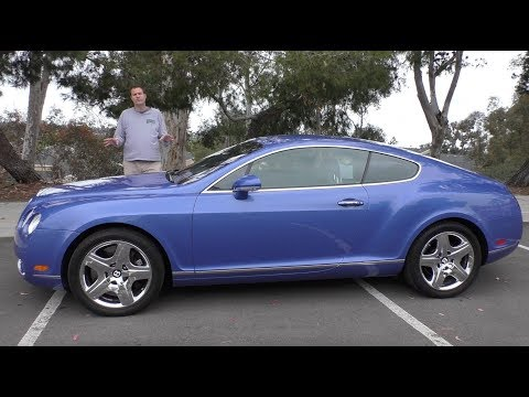 A Used Bentley Continental GT Is a Crazy 50,000 Used Car