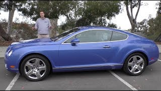A Used Bentley Continental GT Is a Crazy $50,000 Used Car