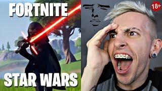 MI REACCIÓN AL EVENTO DE STAR WARS x FORTNITE | Robleis