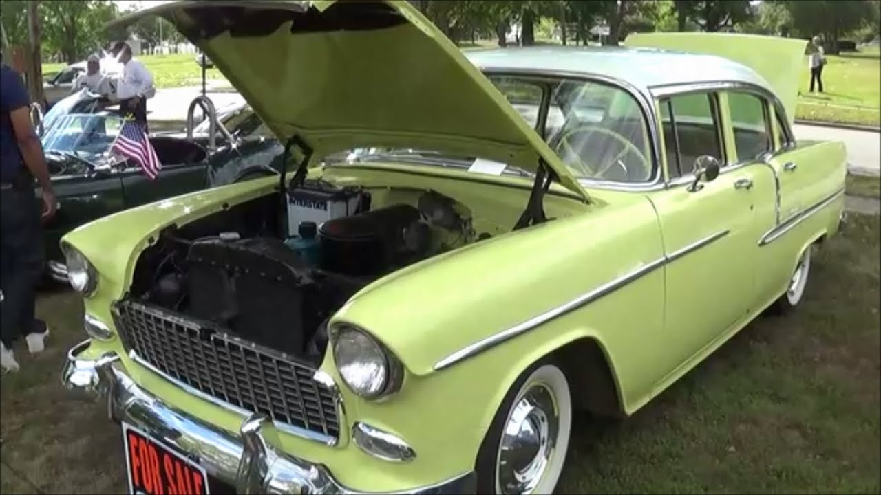 1955 chevy bel air 4 door youtube for 1955 chevy bel air 4 door