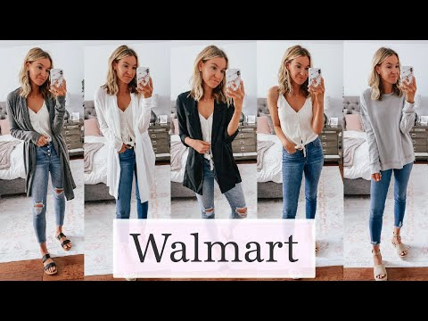 Fashion Finds - Massive Walmart Try On Haul