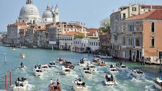 Veneza Itália pontos turisticos, imagens aéreas