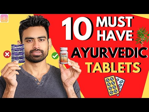 10 Safe & Useful Ayurvedic Tablets to Replace Allopathic Pills (Instant Relief)