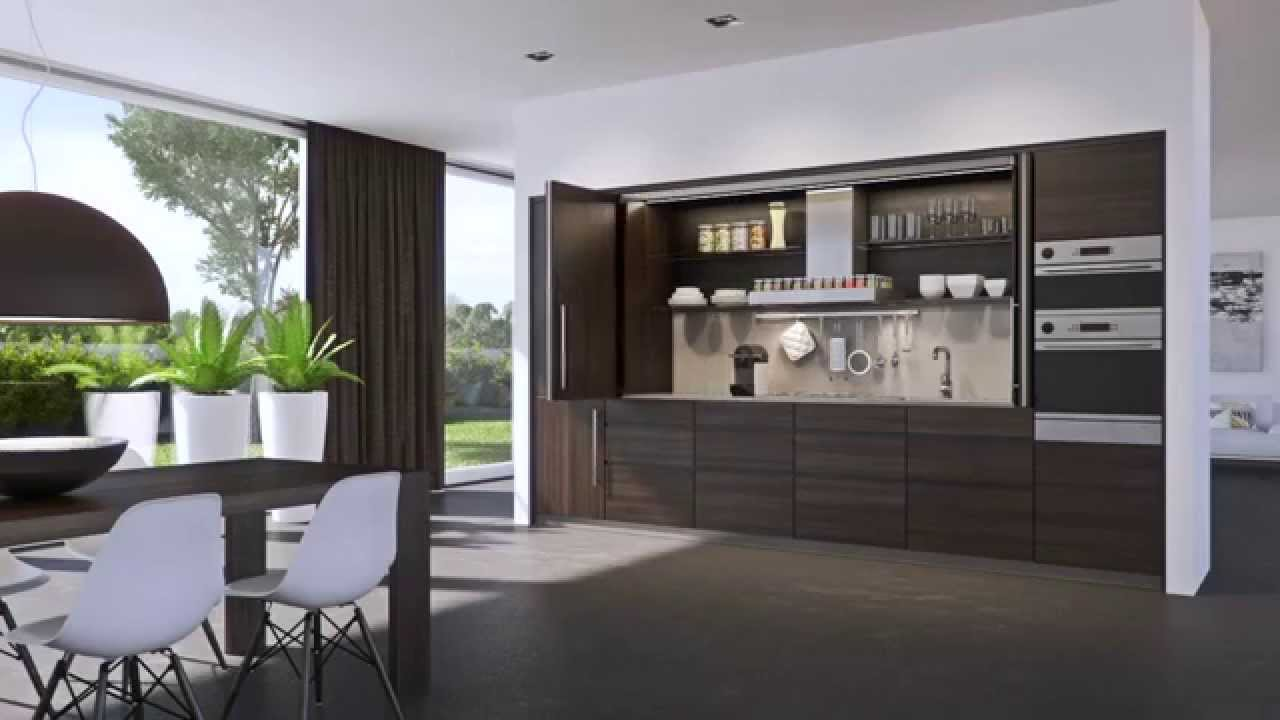 how to make kitchen cabinets small remodels hawa folding concepta 25 - youtube