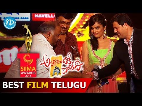Best Film Telugu Attarintiki Daredi@SIIMA 2014 Part 8