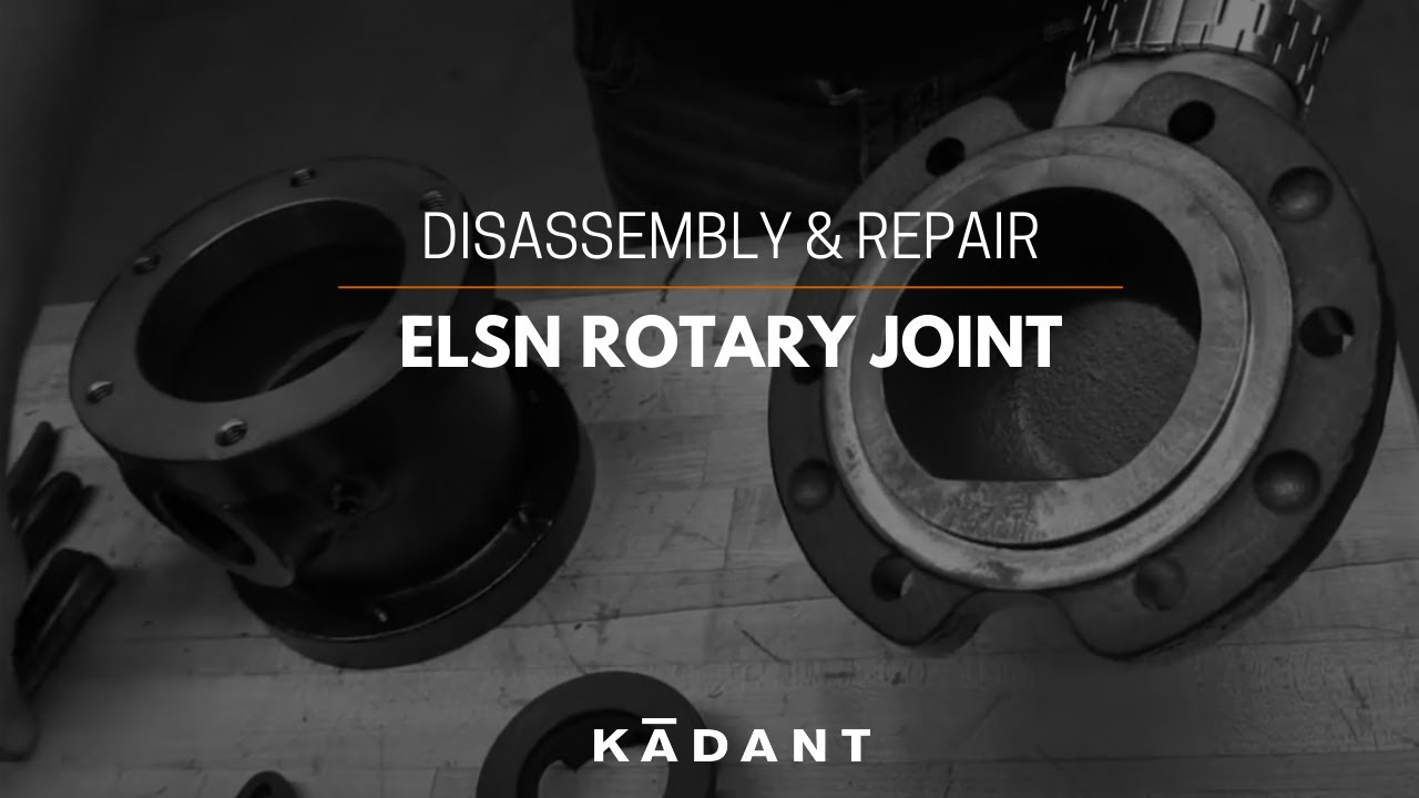 ELSN Rotary Joint - Disassembly & Repair Instructions
