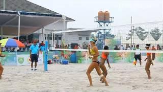 Final Kejuaraan Voli Pantai Asia Pasifik 2015, Tim Voli Pantai Putri Indonesia 1 Raih Juara Pertama