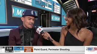 Trae Young draft interview: NBA Draft 2018