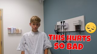 i'm in the hospital...