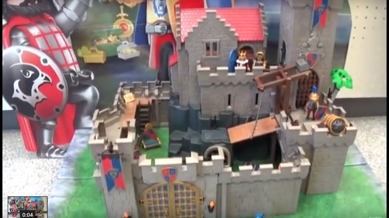 Alle Geheimnisse Der Playmobil Königsburg Der Löwenritter Art Nr 6000 Ritterburg