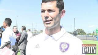 Orlando City B Head Coach Anthony Pulis