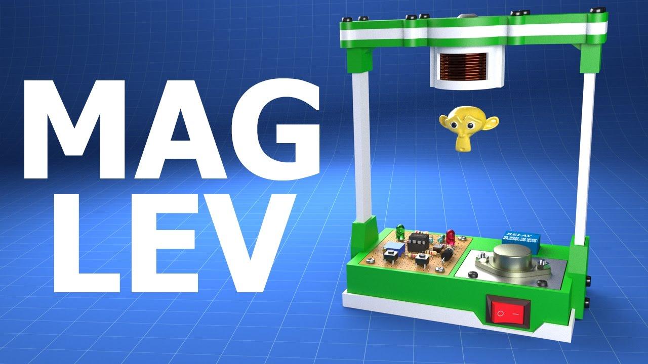 Magnetic Levitation   3D Print Project