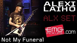 Alexi Laiho from Children of Bodom, came to the EMGtv studio to pla...