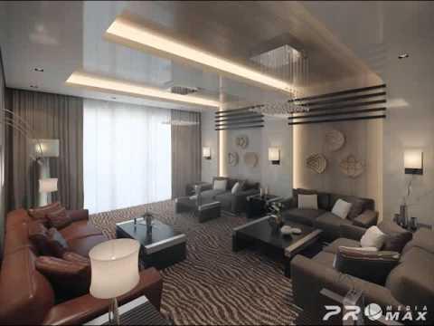 Desain Ruang Tamu Pintu Tengah Interior Minimalis Farida Pasha