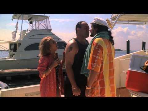 The Sopranos - Tony beats up some Russian guy