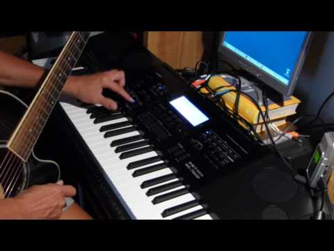 Casio U.S.A WK 7600/CTK7200 Tutorial 6 - Audio Recording