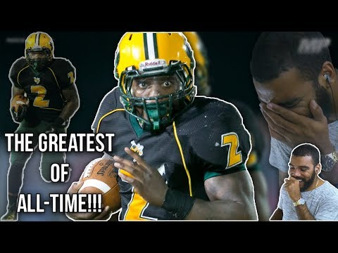 The Greatest High School Running Back Of All-Time!!- Derrick Henry High School Highlights [Reaction]