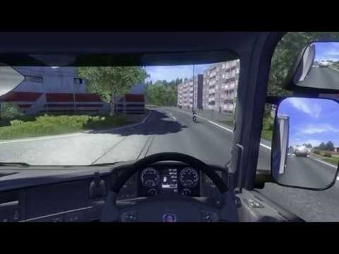 Trucking 01 Driving a Scania