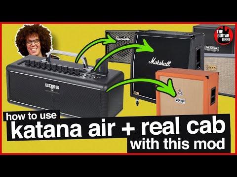 Make the Katana Air Gigworthy with this $3 mod. Wow, it is LOUD!