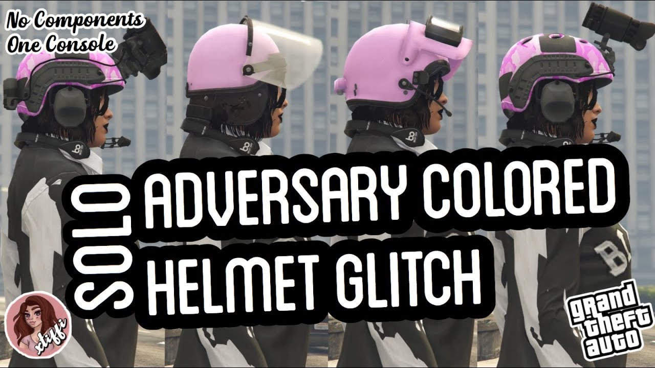 GTA5 | Outfit Glitches: *SOLO* ADVERSARY HELMET GLITCH (Female & Male)