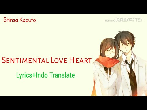 Sentimental Love Heart   GUMI   Lyrics +Indo Translate