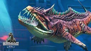 Подводные монстры Мира Юрского Периода Jurassic World The Game прохождение на русском
