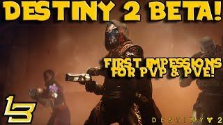 Destiny 2 First Impressions! (First Strike Mission!)