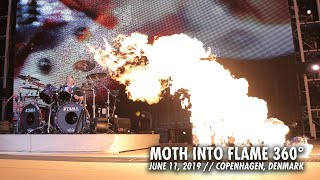 Gambar cover Metallica: Moth Into Flame (360° Video - Copenhagen, Denmark - July 11, 2019)