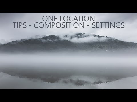 One Location Landscape Photography Tips, Composition and Settings