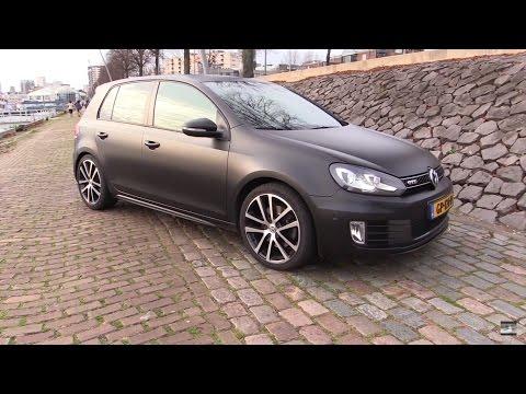 Volkswagen Golf GTD Start Up, Test Drive, In Depth Review Interior Exterior