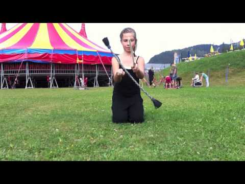 Circus Soluna - Flower Sticks - kleine Tricks