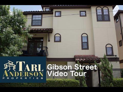 3947 Gibson Street,  Houston, TX  77007 Video Tour