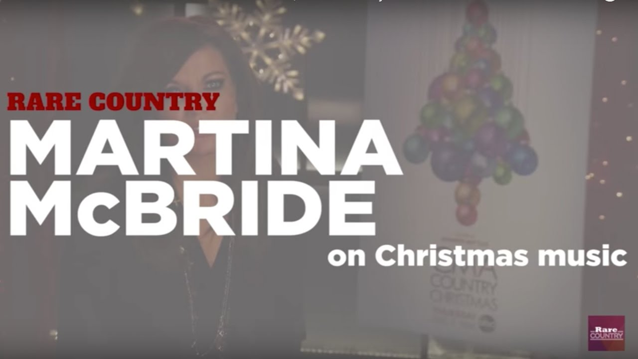 Martina McBride Talks About Christmas Music - YouTube