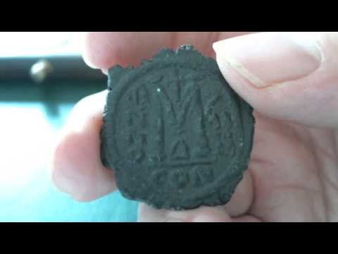 The Coin Channel  14 --   Byzantine Justin II Follis