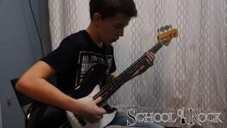 Без купюр,уроки бас-гитары как они есть.Школа Рока