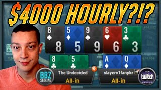 Battling Against The BEST SNG Players In The WORLD! - $5,000+ BUY-INS