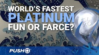 World's Fastest PS4 Platinum Trophy: Fun or Farce? | PlayStation 4 | 5-Star 1000 Top Rated Gameplay