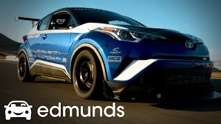 Driving the Race-Prepped, 600-Horsepower Toyota C-HR R-Tuned