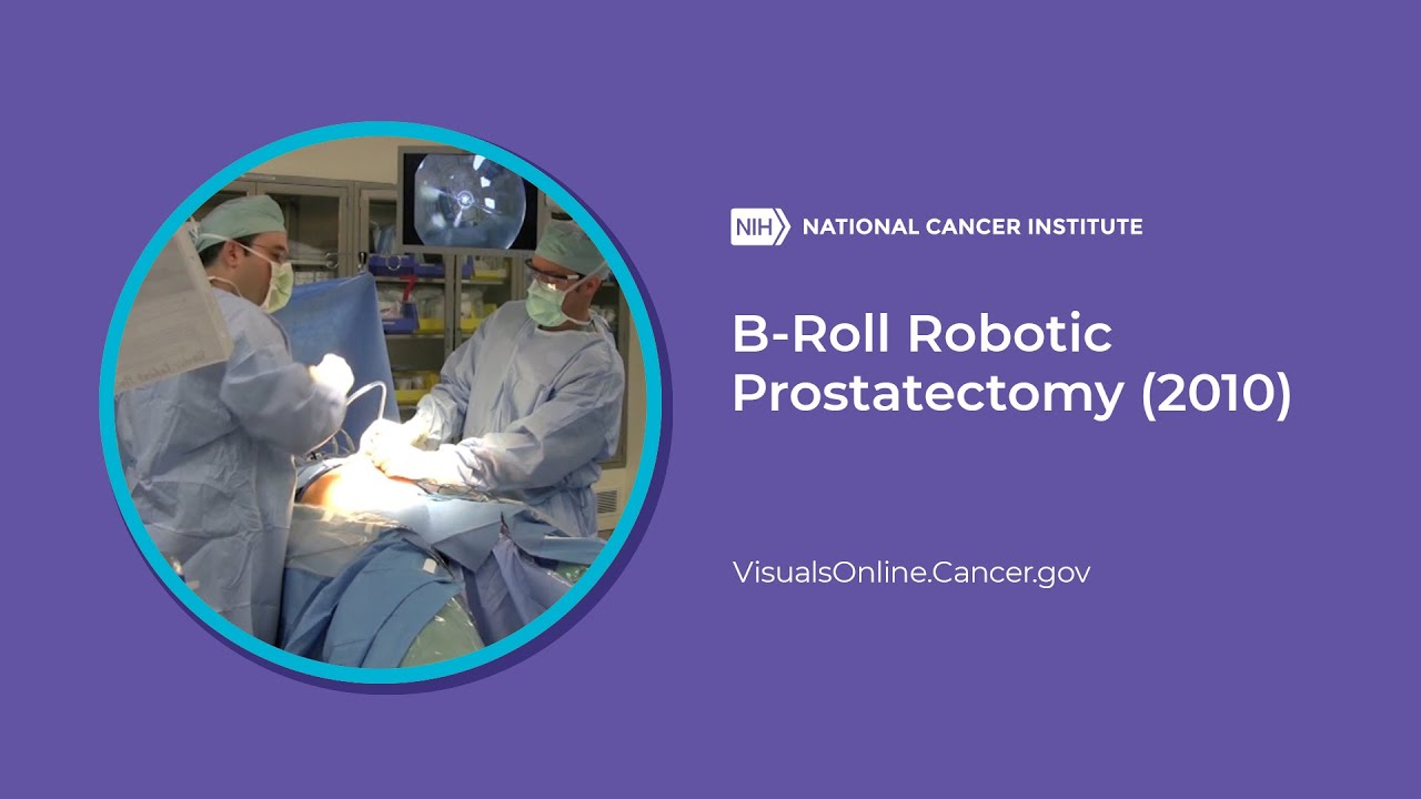 B Roll Robotic Prostatectomy 2010 Youtube