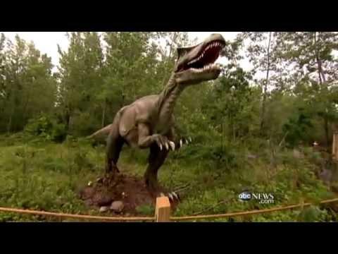Jersey Saurus Real Life Dino Park Youtube