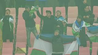 Javokhir Sidikov scores the first goal of the quarter-finals! Uzbekistan takes the lead!