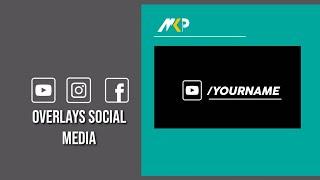 Overlays for edits Social Media [MKP Overlays]™ Fb Ig Yt - free
