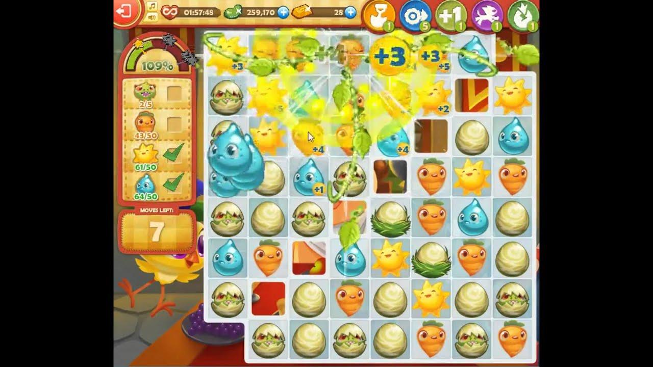 Farm Heroes Saga Level 1110 - YouTube
