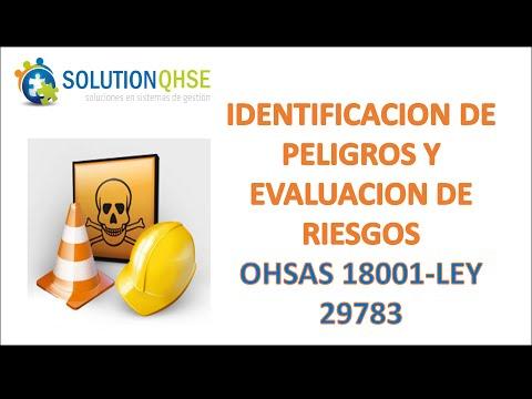 SEGURIDAD Y SALUD EN EL TRABAJO-OHSAS 18001, LEY 29783-Modulo 3