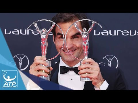 Roger Federer Wins Two Laureus World Sports Awards