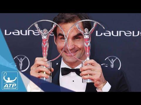 Roger Federer Wins Two Laureus World Sports Awards