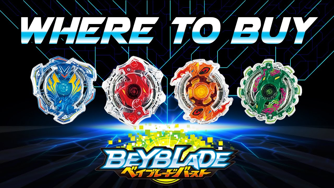 Where to buy BEYBLADE BURST! - YouTube