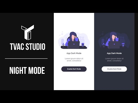 Android Studio - Night/Dark Mode For Your App - Tutorial