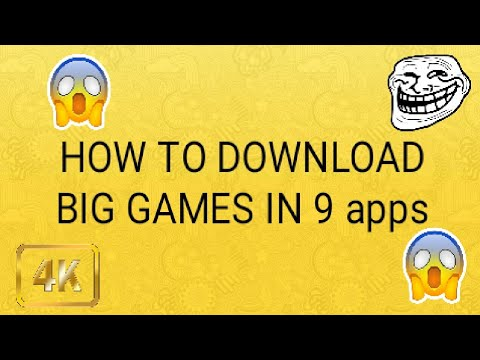How To Download Big Games In 9apps
